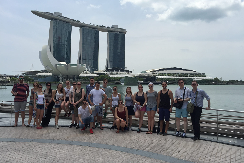 Exkursion Malaysia und Singapur