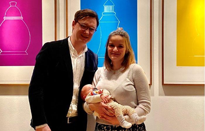 Die Stiftung heiß Matti Jarosch willkommen!