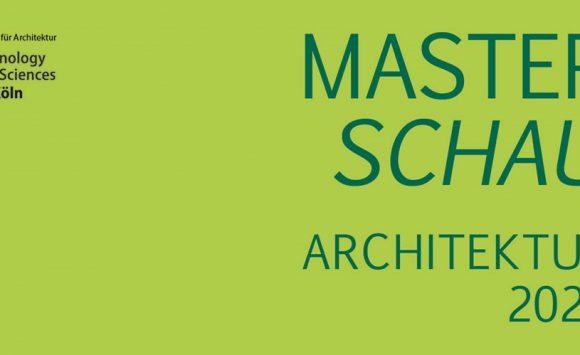 Masterpreis: Fakultät für Architektur der TH Köln zeichnet Abschlussarbeiten aus
